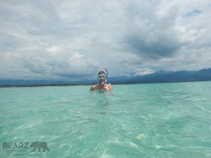 Clear waters of Gili Air