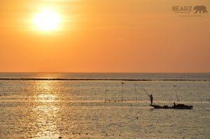 Nusa Lembongan's spectacular sunset