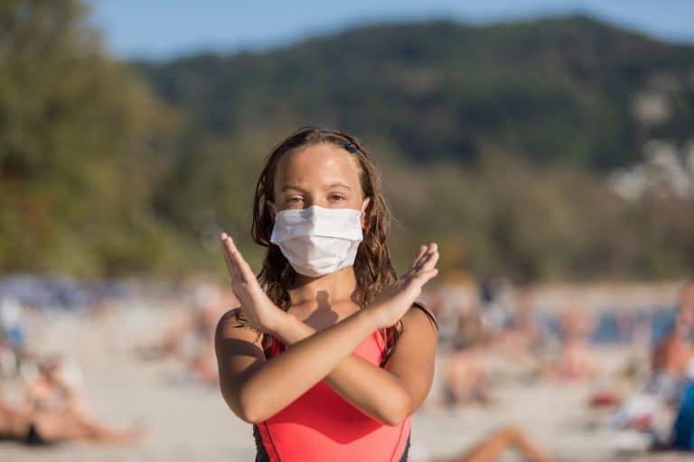 Beach during Pandemic